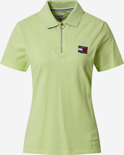 Tommy Jeans Poloshirt in limette, Produktansicht