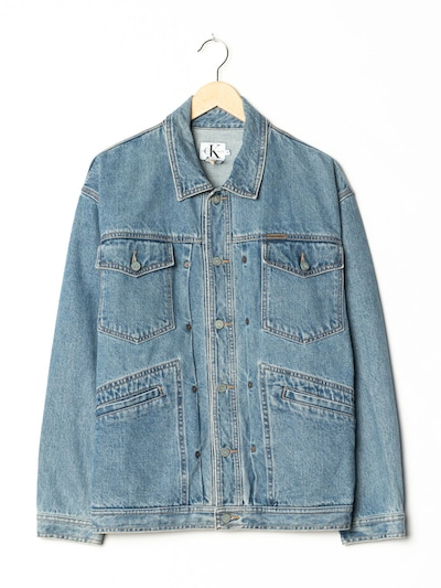 Calvin Klein Jeansjacke in L-XL in blue denim, Produktansicht