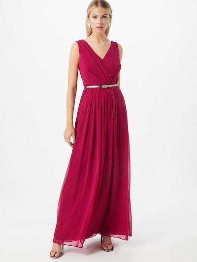 Lauren Ralph Lauren Avondjurk 'Sienna' in de kleur Fuchsia, Modelweergave