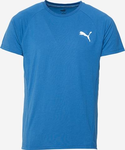 PUMA Tehnička sportska majica 'EVOSTRIPE' u safirno plava / bijela, Pregled proizvoda