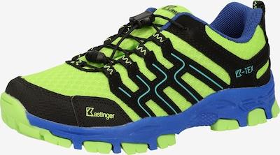 Kastinger Wanderschuh in blau / neongrün / schwarz, Produktansicht
