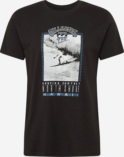 BILLABONG Shirt 'Hawaii' in schwarz / weiß, Produktansicht