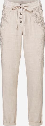 Soccx Leinenhose in beige, Produktansicht