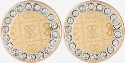 GUESS Ohrringe in gold / weiß, Produktansicht