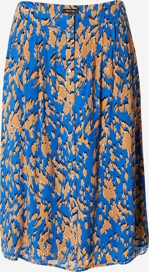 COMMA Rok in de kleur Blauw / Bruin / Zwart, Productweergave