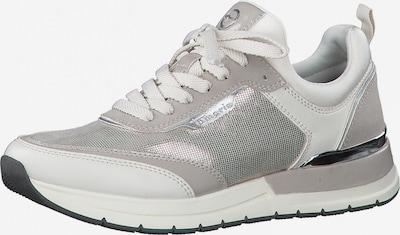 világosszürke / ezüst TAMARIS Rövid szárú edzőcipők, Termék nézet
