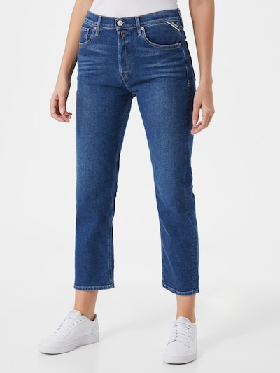REPLAY Jeans 'LEONY' in Blue denim, View model