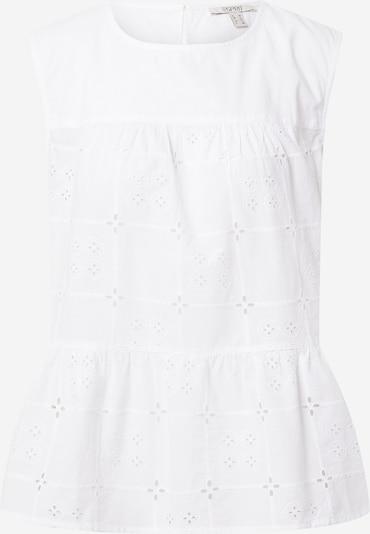 Bluză ESPRIT pe alb, Vizualizare produs