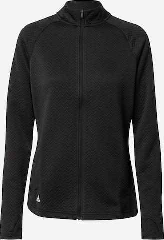 adidas Golf Sportsweatjakke i svart