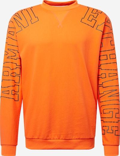 ARMANI EXCHANGE Sweatshirt '3HZMFA' in orange / schwarz, Produktansicht