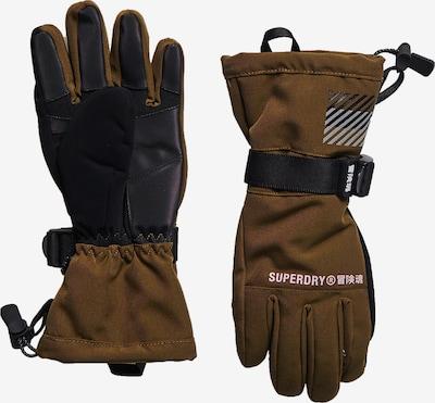 Superdry Sporthandschoenen in de kleur Bruin / Grijs / Zwart, Productweergave