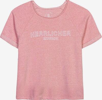 Herrlicher Shirt 'Diya Light' in koralle / weiß, Produktansicht