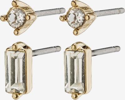 Pilgrim Boucles d'oreilles 'Sabrina' en or / transparent, Vue avec produit