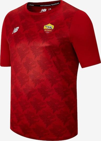 new balance Shirt in gelb / rot / weiß, Produktansicht