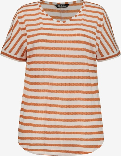 Ulla Popken Shirt in orange / naturweiß, Produktansicht