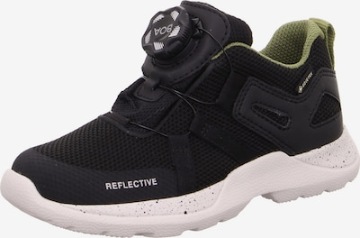 SUPERFIT Schuhe 'RUSH' in oliv / schwarz, Produktansicht
