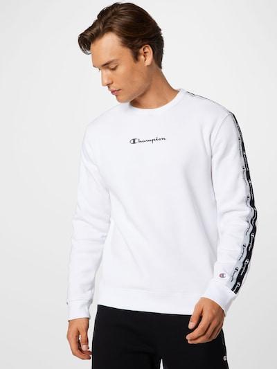 Champion Authentic Athletic Apparel Sweatshirt in navy / weiß: Frontalansicht