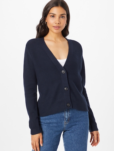 TOM TAILOR Knit Cardigan in marine blue, View model