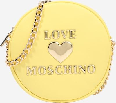 Love Moschino Torba preko ramena u žuta / zlatna: Prednji pogled