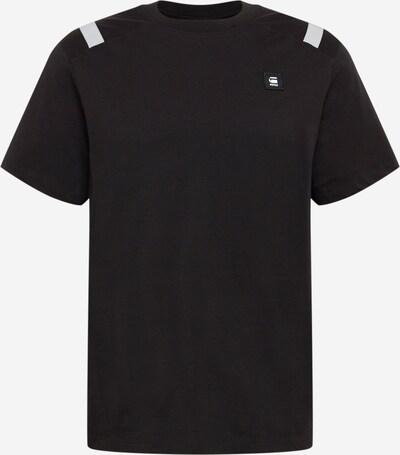G-Star RAW Shirt in de kleur Lichtgrijs / Zwart, Productweergave