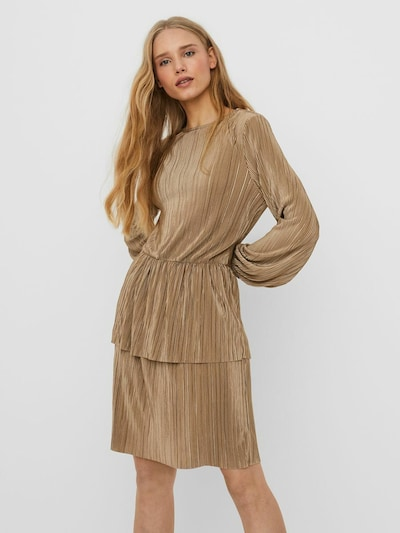 VERO MODA Kleid in gold, Modelansicht