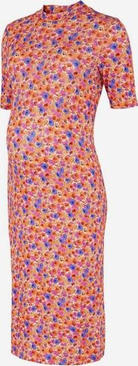 MAMALICIOUS Kleid in blau / lila / orange / rot, Produktansicht