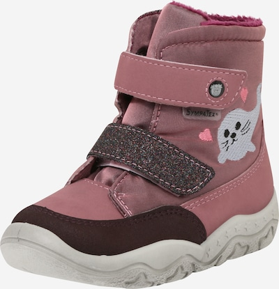 Pepino Snow boots in Berry / Rose / Silver, Item view