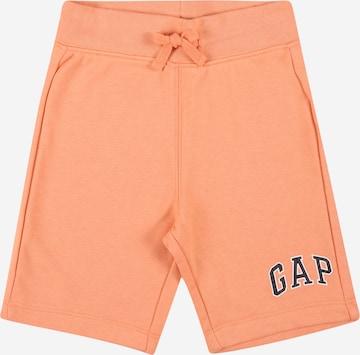 GAP Trousers in Orange