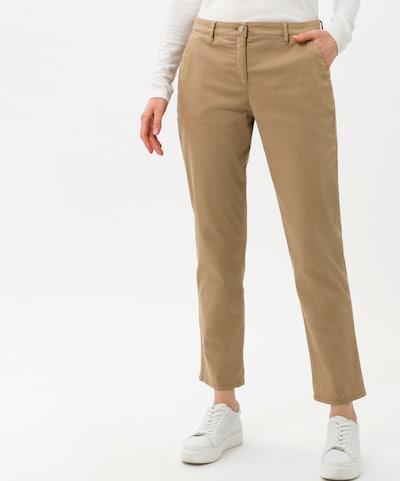BRAX Pantalon chino 'Mel' en noisette, Vue avec modèle