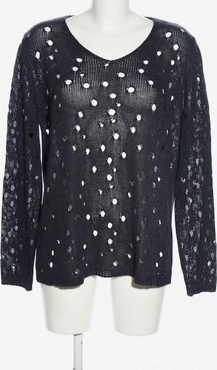 Marcel Ostertag Strickpullover in XL in schwarz, Produktansicht