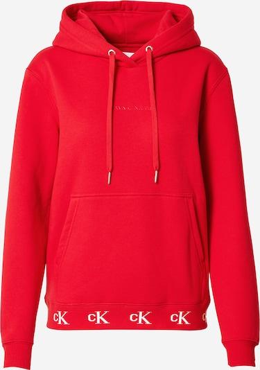 Calvin Klein Jeans Sweater majica u crvena / bijela, Pregled proizvoda