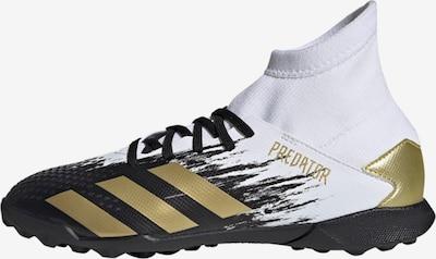ADIDAS PERFORMANCE Fußballschuh  ' Predator Mutator 20.3 TF ' in gold / schwarz / weiß, Produktansicht