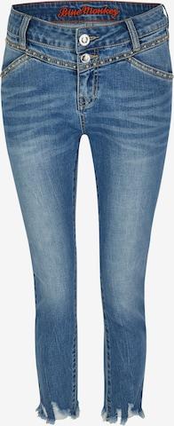Blue Monkey Jeans 'Sandy' in Blau