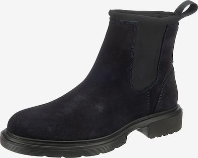 HUGO Chelsea Boots'Dart' in dunkelblau, Produktansicht