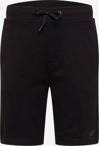 4F Sportsbukser i svart