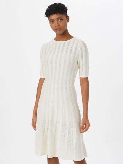 BOSS Casual Kleid 'Feli' in weiß, Modelansicht