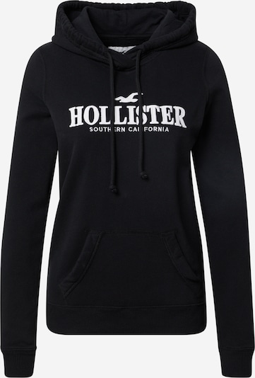fekete / fehér HOLLISTER Tréning póló, Termék nézet