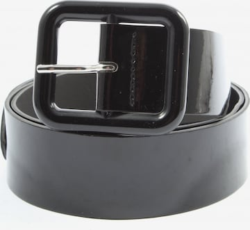 Promod Lederimitatgürtel in XS-XL in Schwarz
