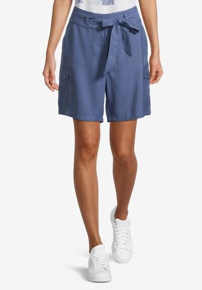 Betty & Co Shorts in taubenblau, Modelansicht