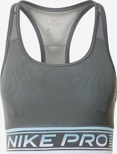 NIKE Soutien-gorge de sport en gris / mélange de couleurs, Vue avec produit