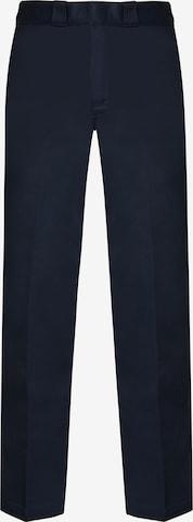 Pantalon à plis 'Orgnl 874Work Pnt' DICKIES en bleu