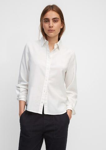Marc O'Polo Bluse in Weiß