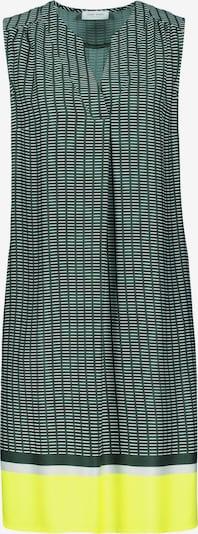 GERRY WEBER Kleid in gelb / dunkelgrün / weiß, Produktansicht