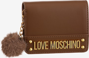 Love Moschino Backpack in Brown
