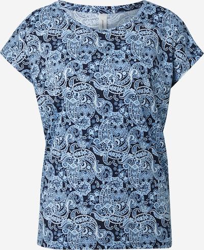 Tricou 'FELICITY' Soyaconcept pe albastru / albastru închis, Vizualizare produs
