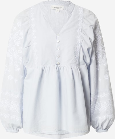 Maison 123 Blouse 'ANNA' in Azure / White, Item view