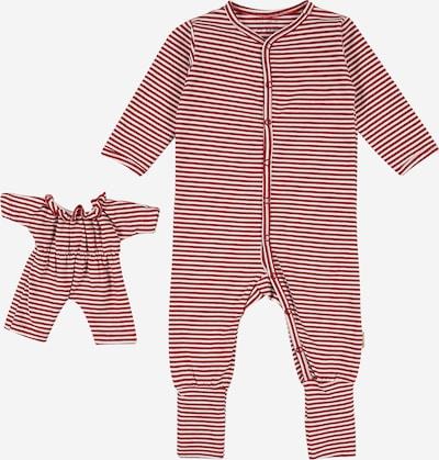 Hust & Claire Schlafanzug 'Isa' in gold / rot / weiß, Produktansicht