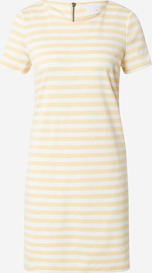Abito 'TINNY' VILA di colore giallo chiaro / bianco, Visualizzazione prodotti
