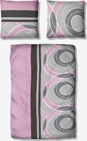 MY HOME Bettwäsche in rosa, Produktansicht