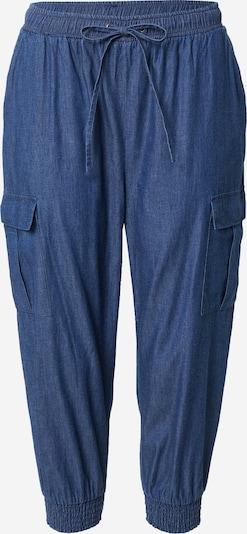 Kaffe Jeans cargo 'Arlene' en bleu foncé, Vue avec produit